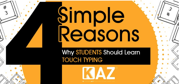 4 simple reasons why students should learn to touch type